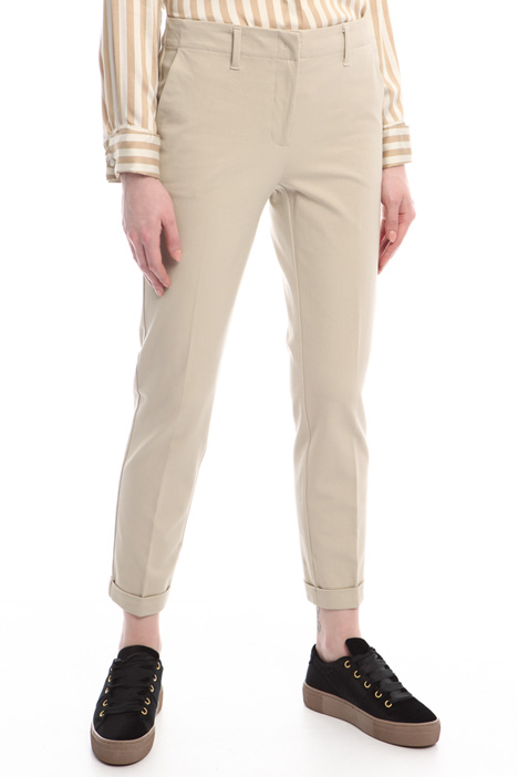 Turn-up trousers Intrend