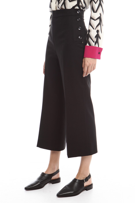 Trousers with buttons Intrend