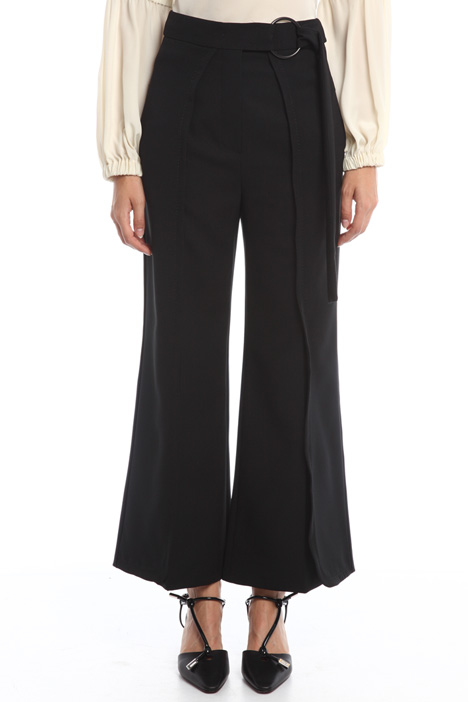 Trousers with belt Intrend