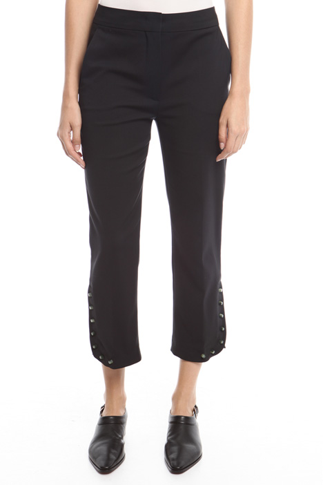 Trousers with studs Intrend