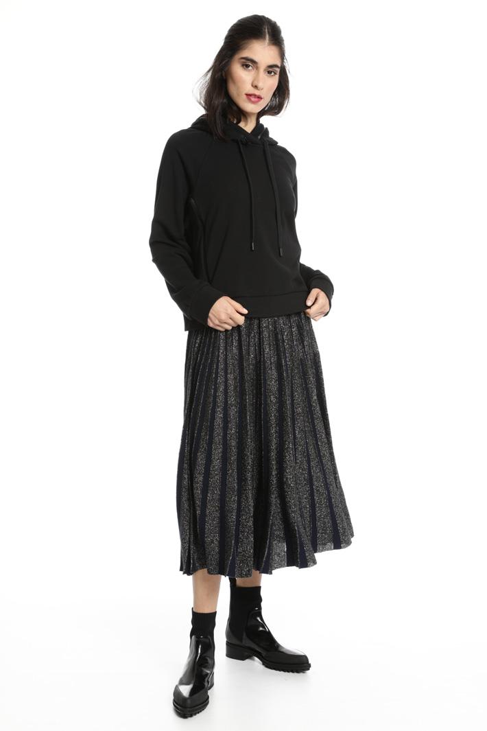 Lurex wool skirt Intrend
