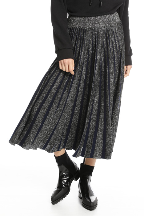 Lurex wool skirt Intrend
