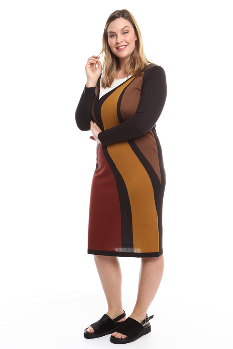 Cashmere and silk dress Intrend