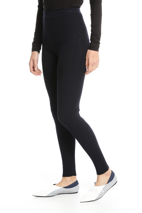 Ribbed wool leggings Intrend