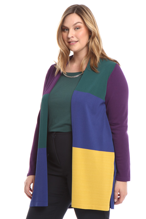 Cardigan colorblock Intrend