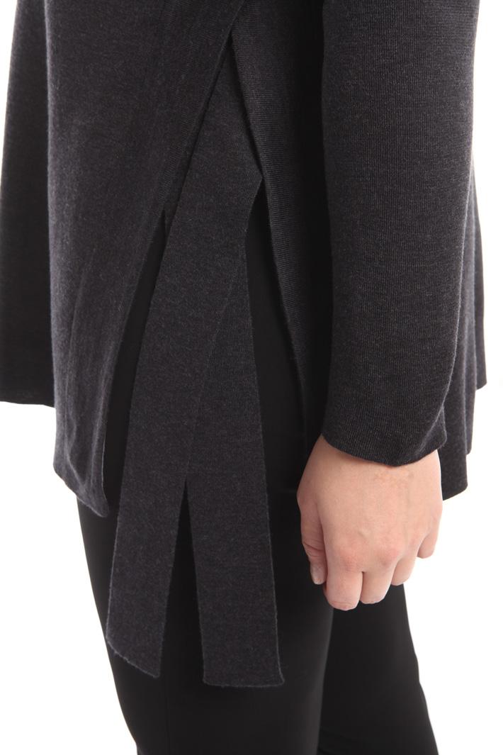 Maglia in lana con spacchi  Intrend