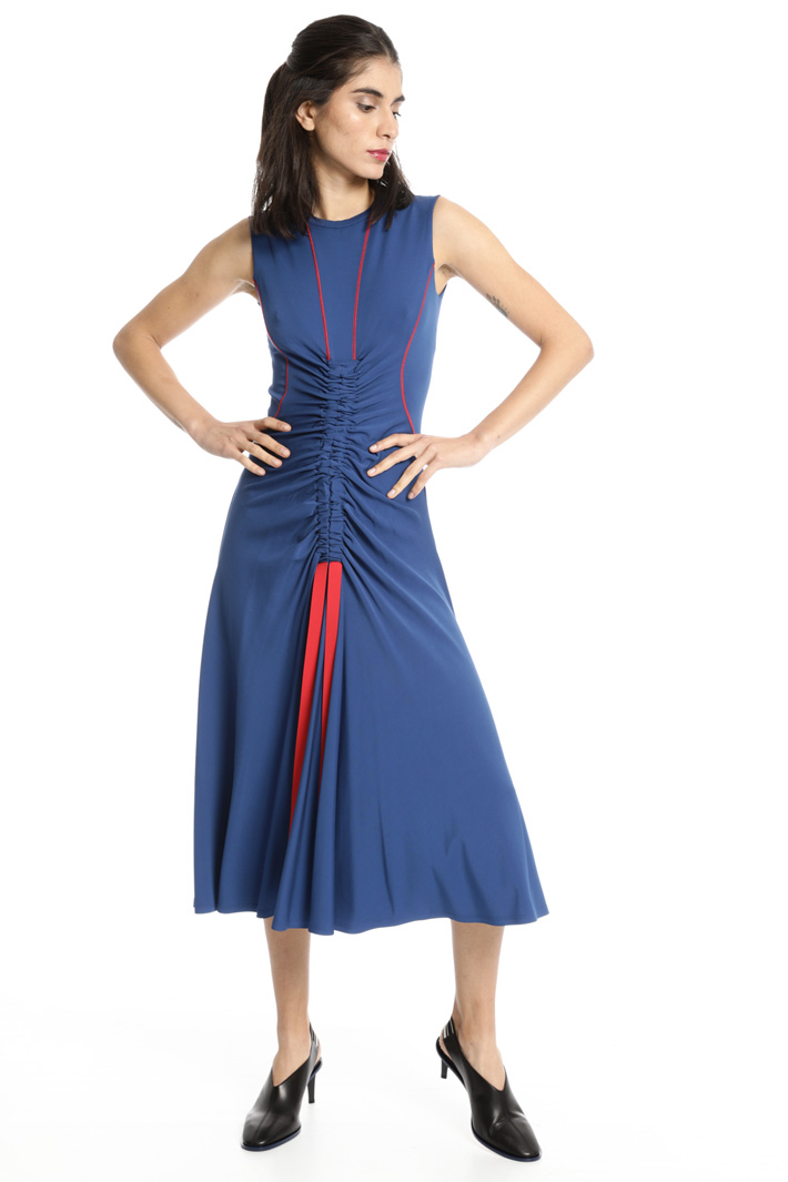 Laced jersey dress Intrend