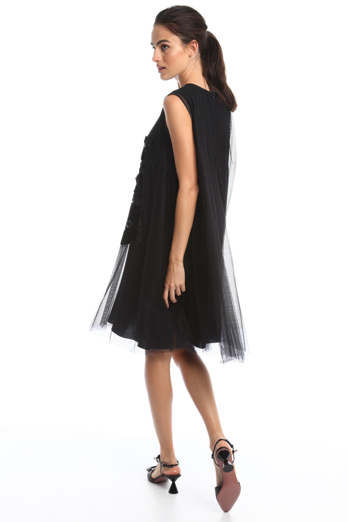 Abito in tulle flock Intrend