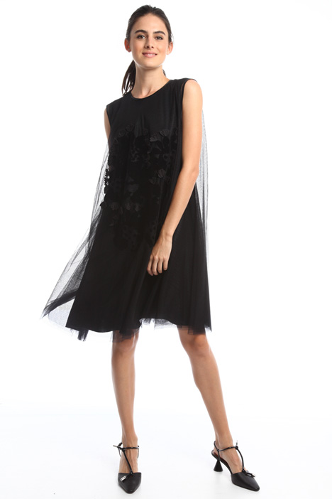 Flock tulle dress Intrend