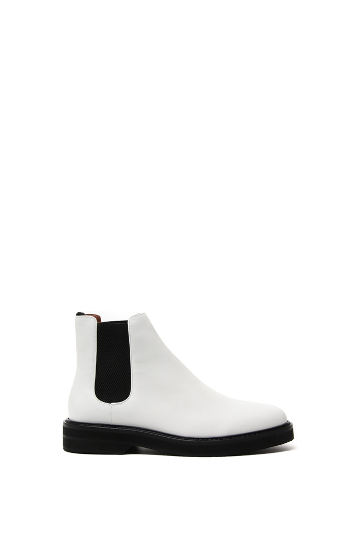 Chelsea ankle boot in leather  Intrend