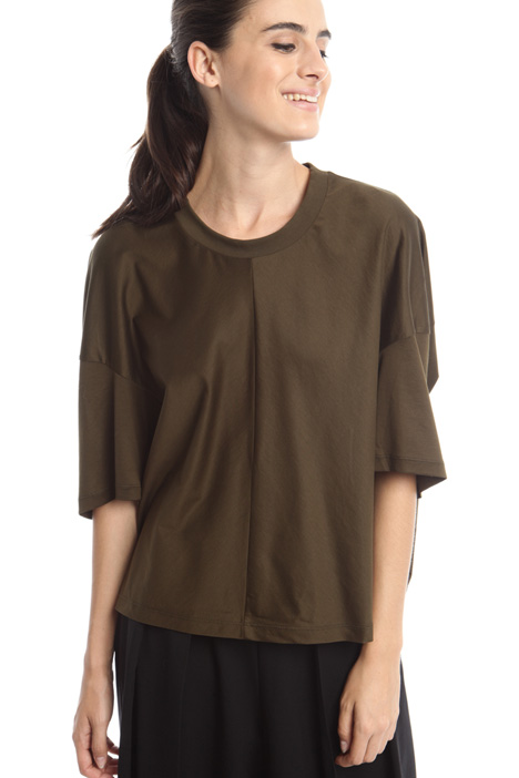 Boxy T-shirt in cotton  Intrend