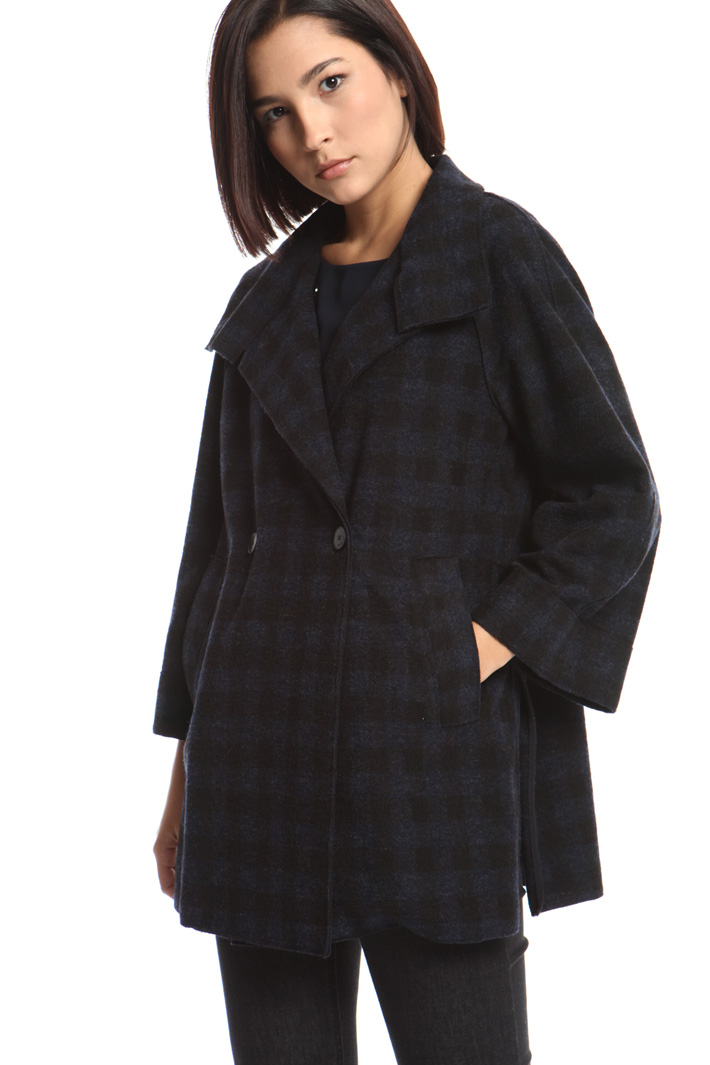 Wool jersey coat Intrend