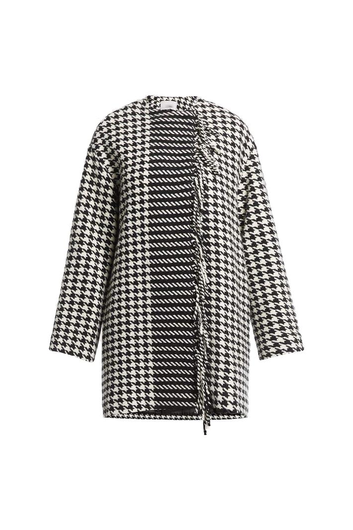 Fringed coat Intrend