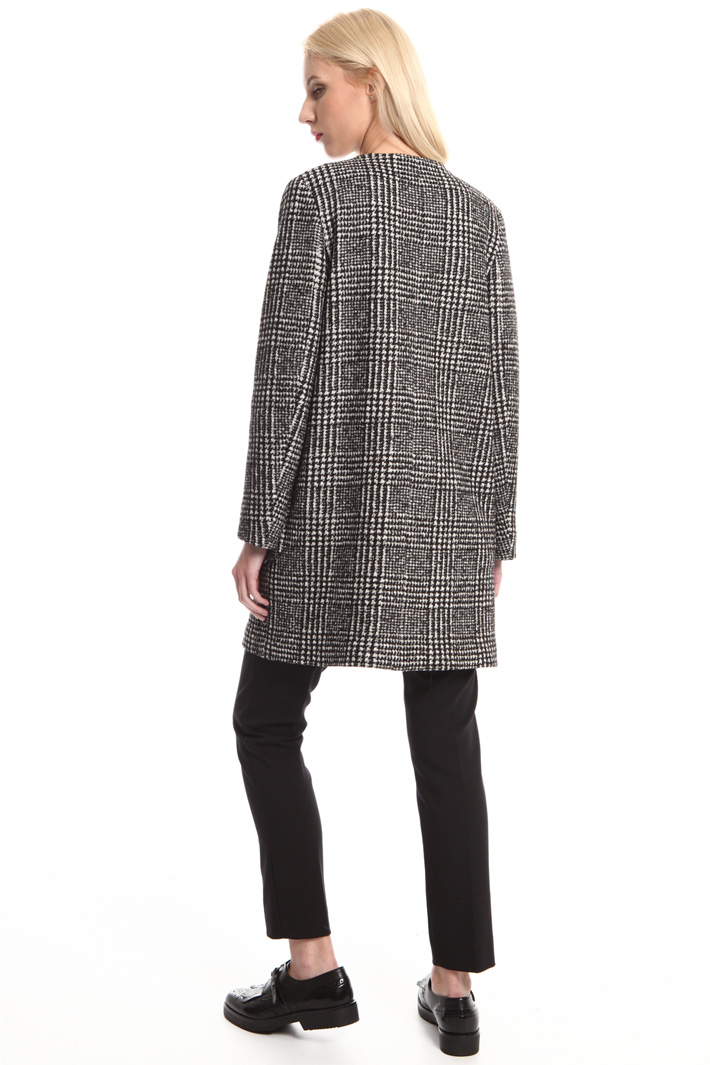 Jacquard jersey jacket Intrend