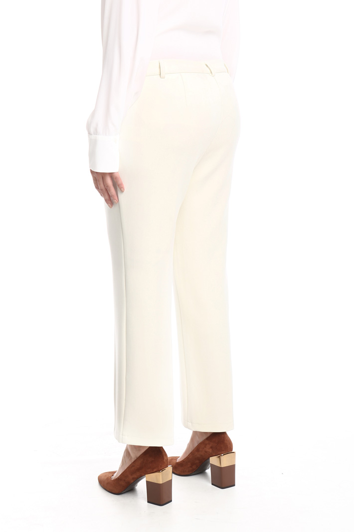 Trousers in heavy fabric Intrend