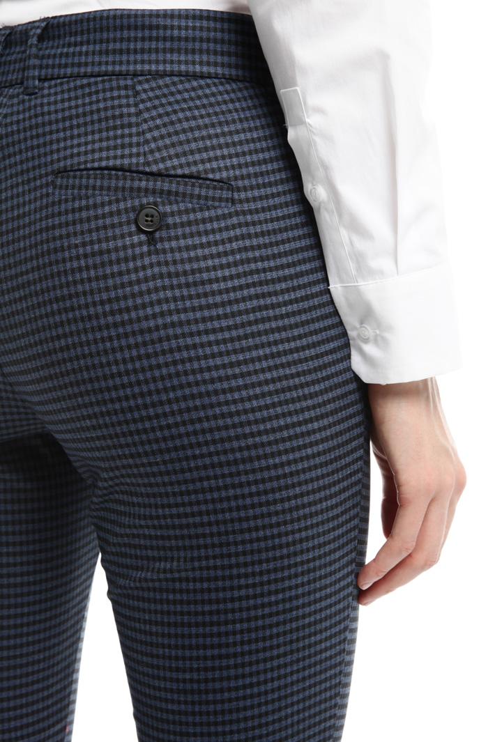 Pantalone stretch tinto filo Intrend