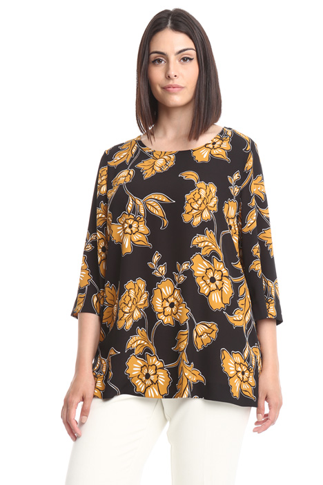 Floral patterned shirt Intrend