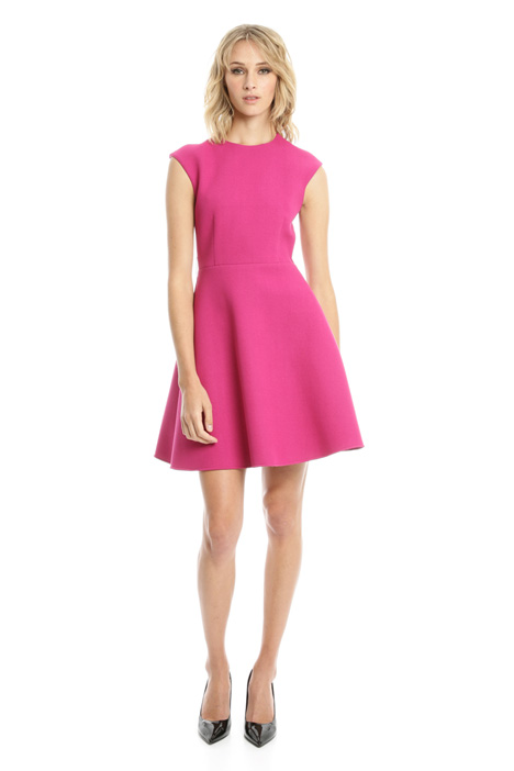Compact viscose dress Intrend