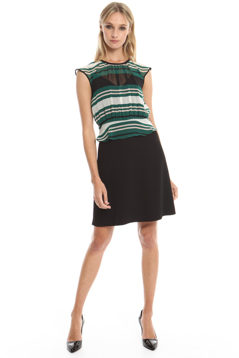 Cady and georgette dress Intrend