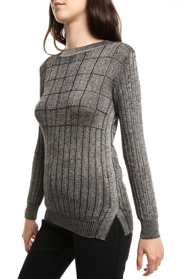 Maglia in lana lurex Intrend