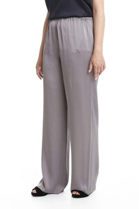 Viscose blend trousers Intrend