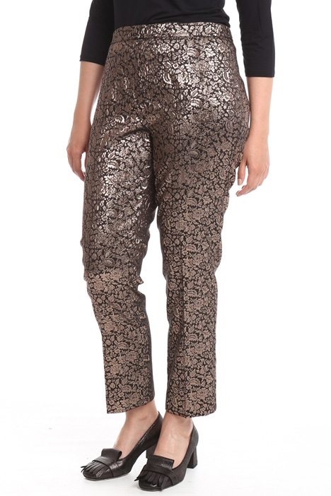 Pantalone jacquard lurex Intrend