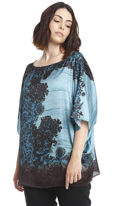 Wide satin tunic Intrend