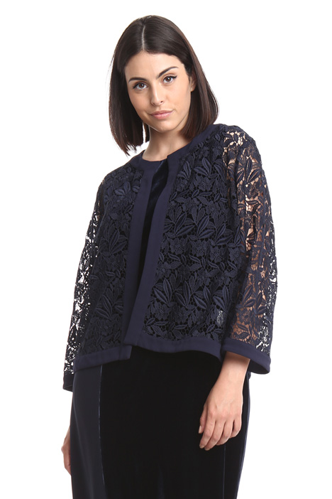 Macramé lace jacket Intrend