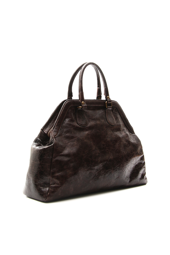 Aged-effect bag Intrend