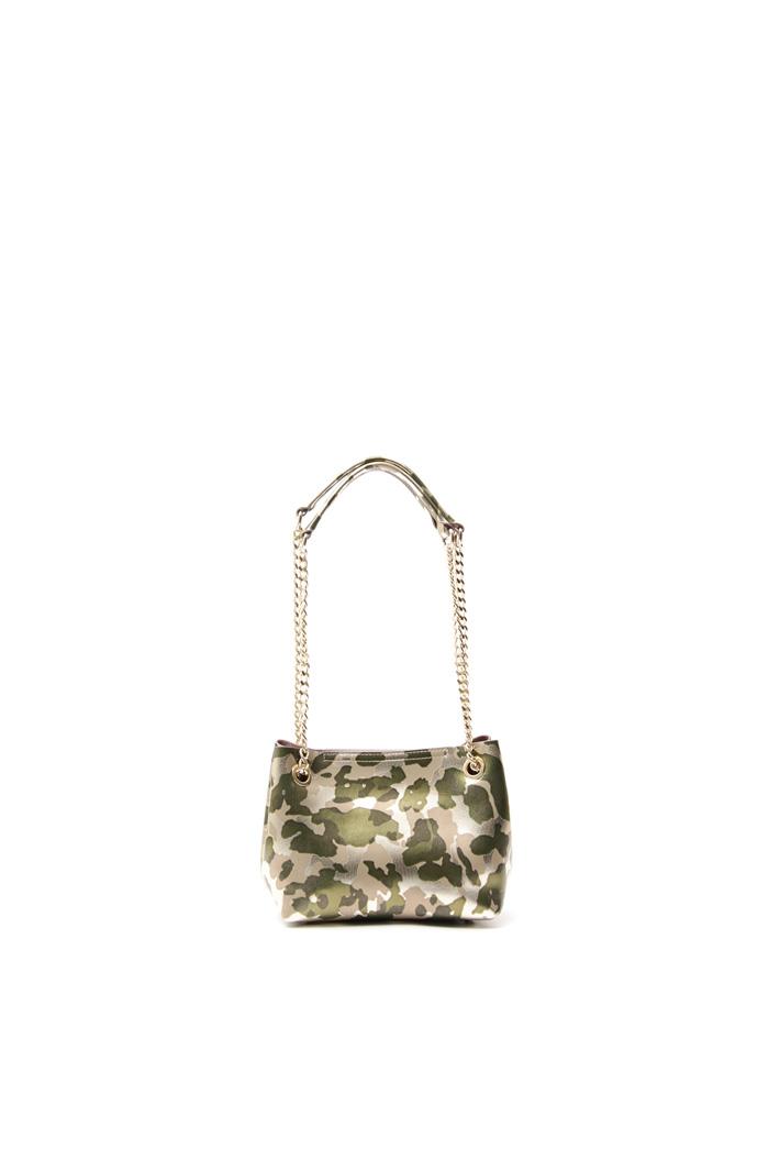 Metallised leather bag Intrend