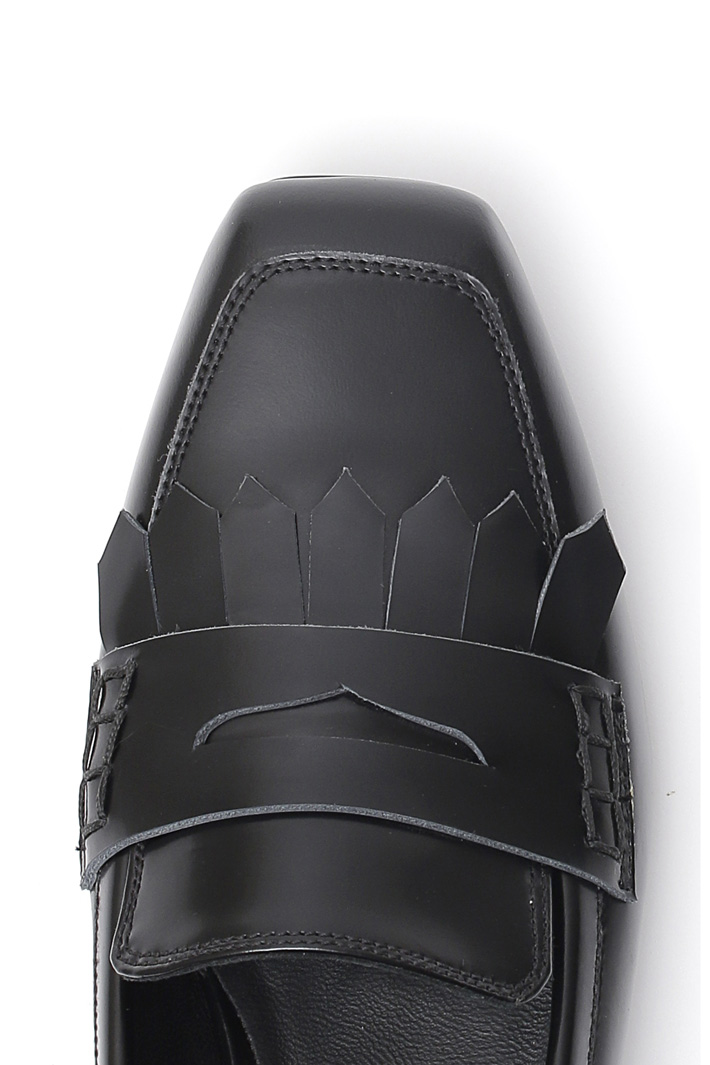 Smooth leather moccasin Intrend