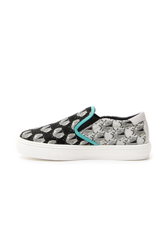 Sneakers in jacquard lamé Intrend