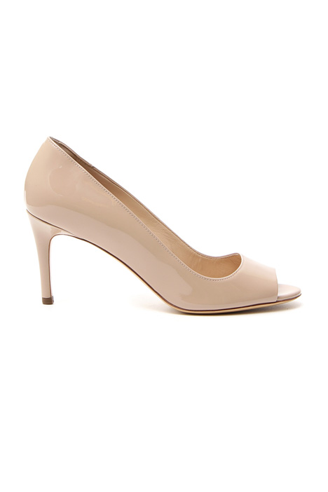 Sandali open toe in vernice Intrend
