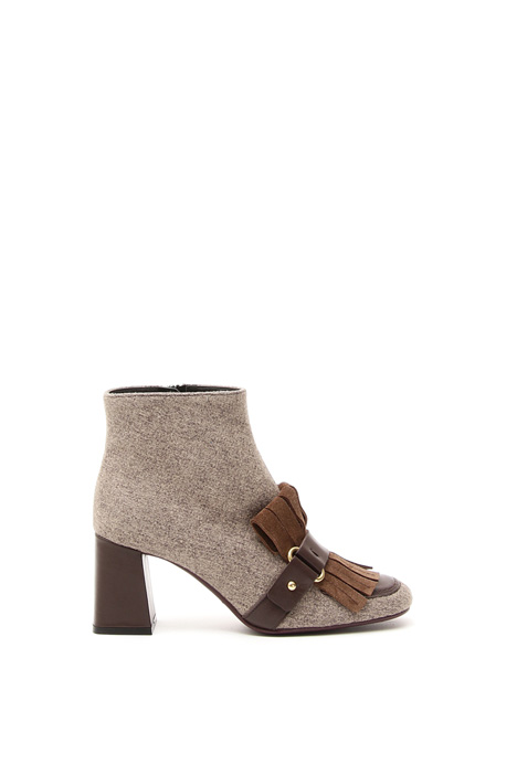 Fringed boots Intrend