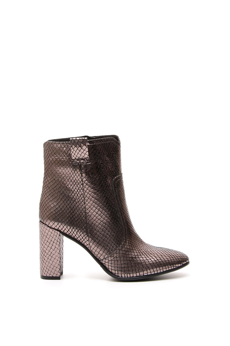 Stivali Ankle-Boot laminati Intrend