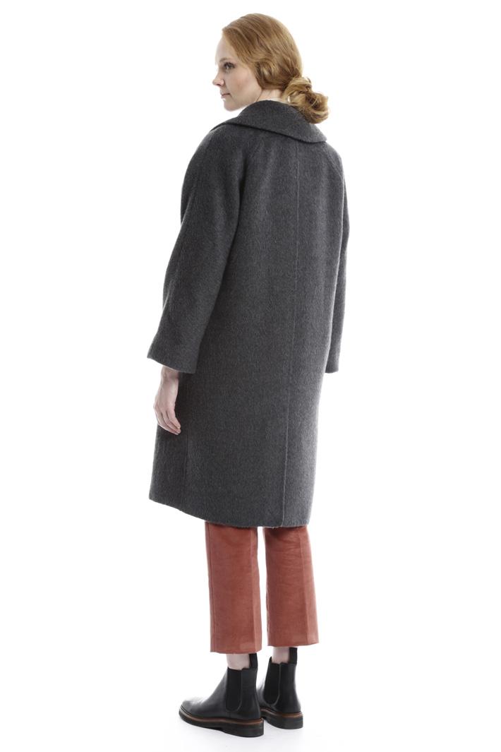 Cappotto in spazzolino di lana Intrend