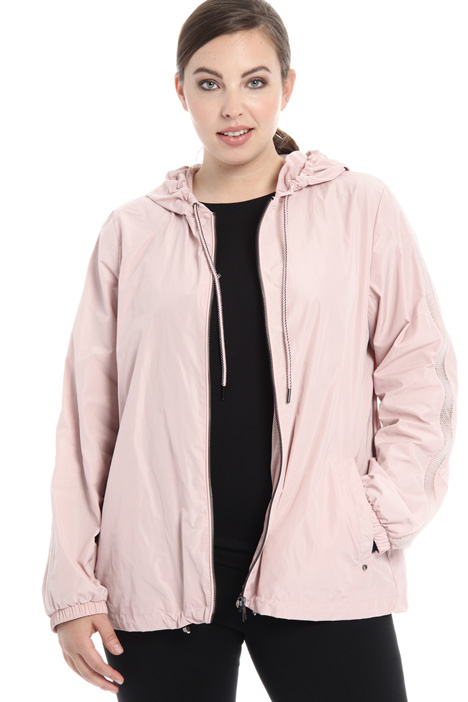Short taffeta rain jacket Intrend