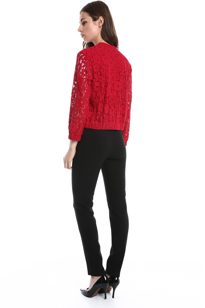 Bomber in pizzo foderato Intrend