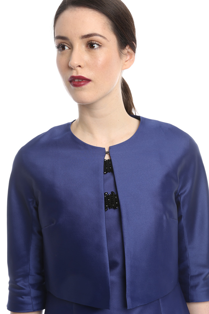 Boxy jacket with hook Intrend