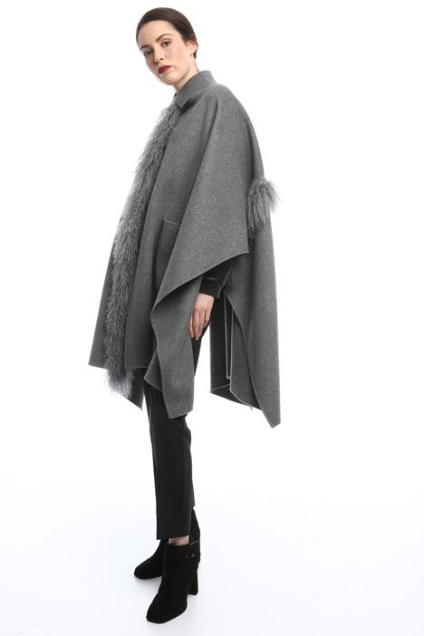 Mantello in double di lana  Intrend