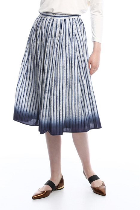 Poplin skirt with pockets Intrend