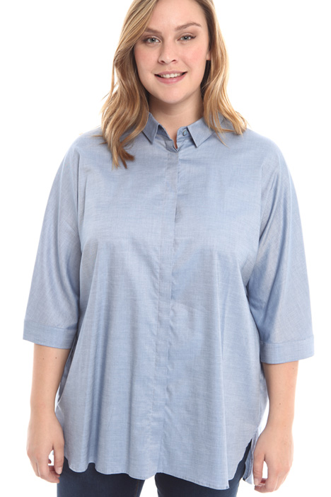 Camicia over in chambray  Intrend