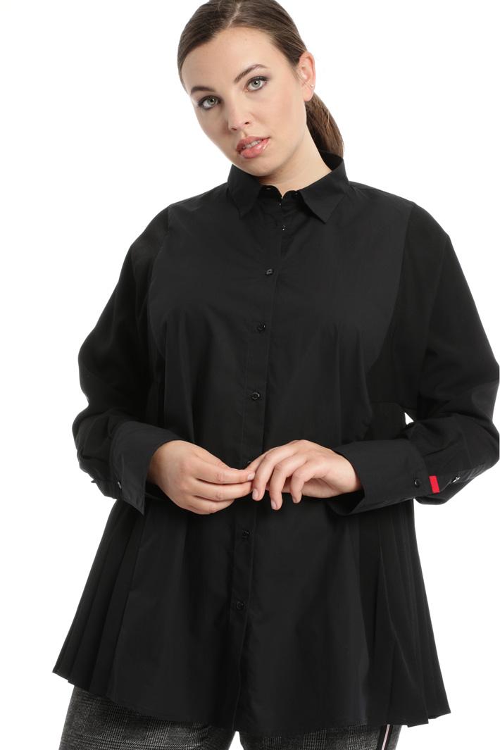 Crepe poplin shirt Intrend