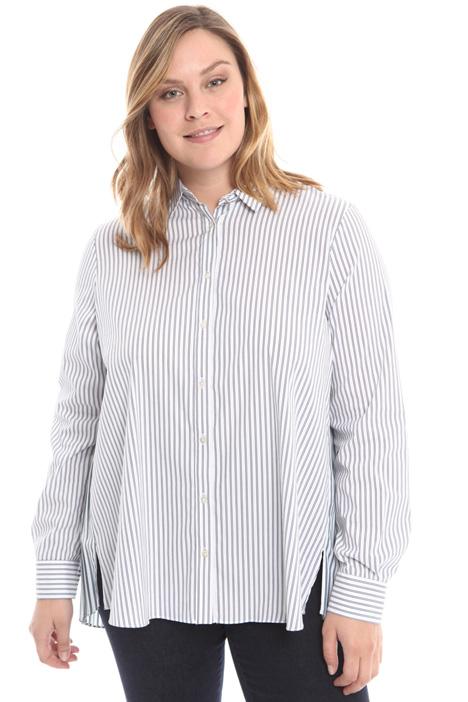 Camicia con inserto plissé Intrend