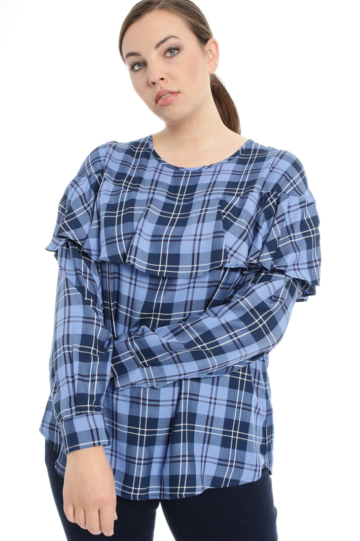 Flounced blouse Intrend