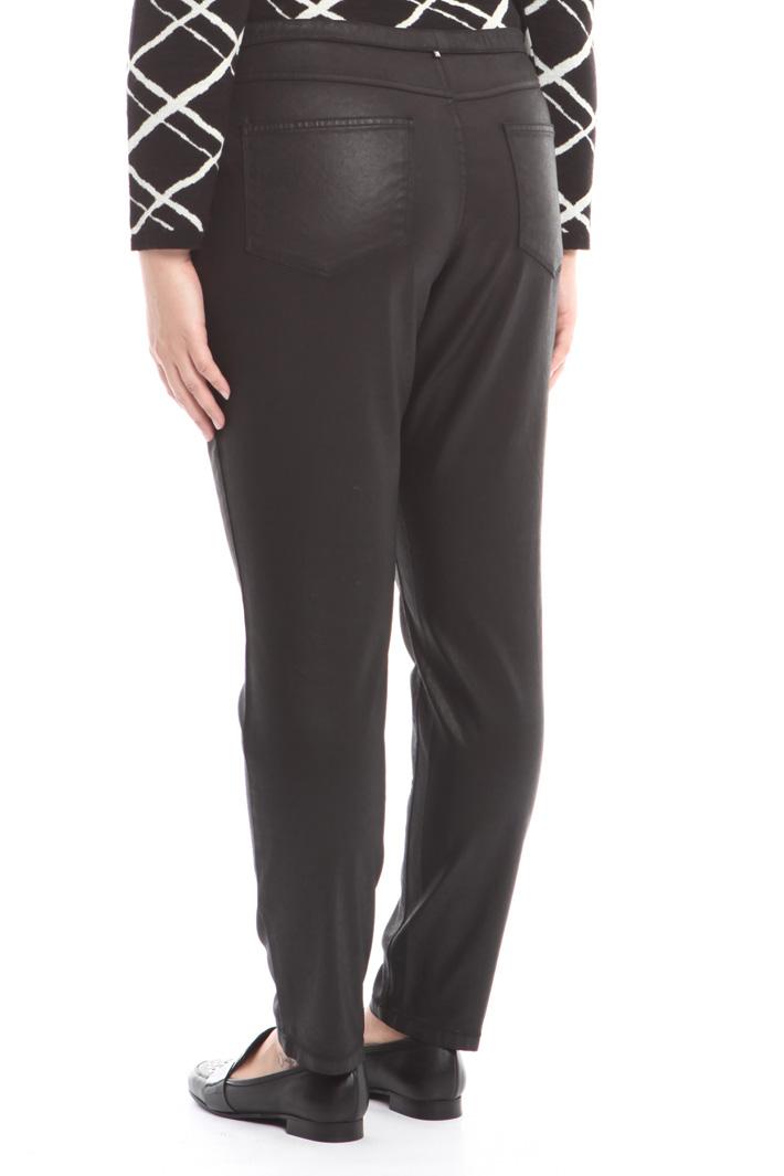 Pantalone in raso spalmato Intrend