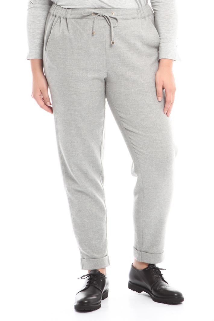 Pantalone jogging in lana Intrend