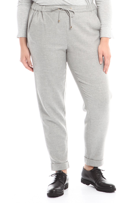 Pantalone jogging in lana Intrend