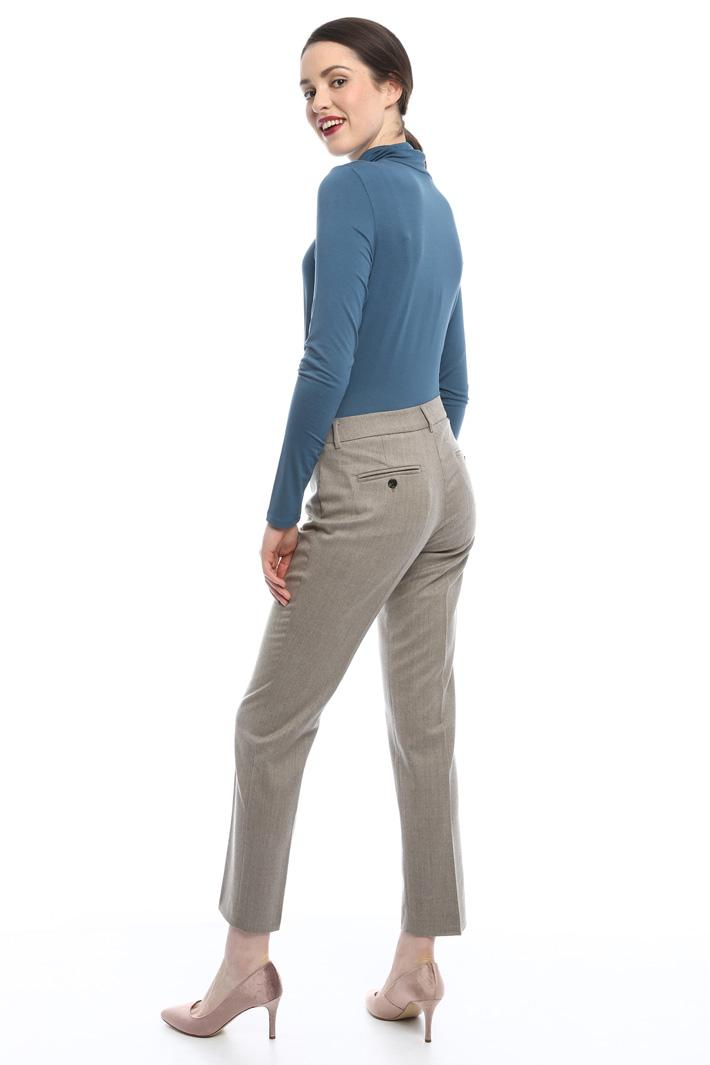 Pantaloni in flanella Intrend