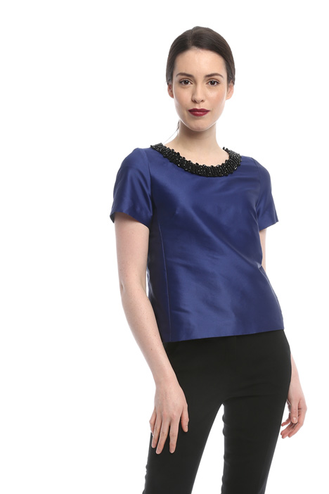 Bijou neck top Intrend